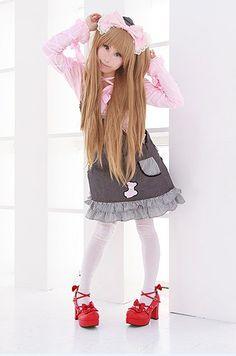可愛いLolitaの衣装