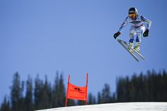 Ted Ligety races down the course during the downhill portion of the men's Alpine combined competition at the Alpine skiing world championships on Sunday, Feb. in Beaver Creek, Colo. World Cup Skiing, Snow Conditions, Ski Racing, Beaver Creek, Alpine Skiing, World Championship, The Man, Ted, Competition