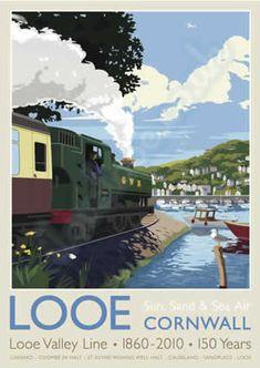 Looe Valley Line, Cornwall, England