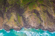 #cliff coast #hawaii #island #kauai