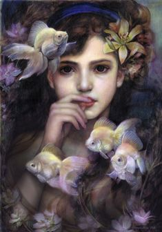 Beautiful Paintings by Pink Parasol