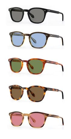 Mark McNairy New Amsterdam × Garret Leight Eyewear