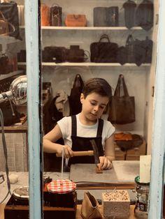 #supportartisans #artisans #saddler #maroquinier #kids #children #enfants #paris #parisiankid #parisfrance #peterfromparis Paris France, Parisian, Children, Kids, Vintage, Instagram, Style, Atelier, Young Children
