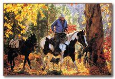 Cowboy Kaleidoscope -Tim Cox - Western Art