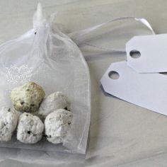 Bombe in sacchetto di organza #seed paper