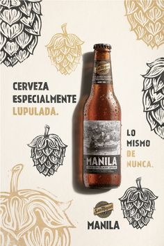 Discover recipes, home ideas, style inspiration and other ideas to try. Food Packaging Design, Bottle Packaging, Coffee Packaging, Manila, Craft Beer Brands, Beer Advertisement, Beer Label Design, Beer Poster, Ads Creative