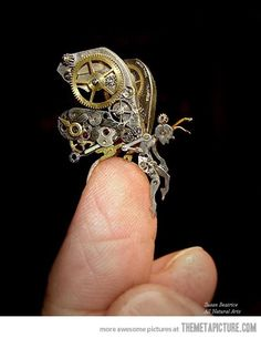 Steampunk Fairy - Click image to find more Technology Pinterest pins