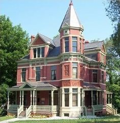 St Joseph Mo Nunning House Located At 14th And Jules Street Victorian Architecture