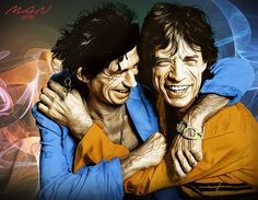 Rolling RES by gmanel on DeviantArt Patti Hansen, Ron Woods, Charlie Watts, Keith Richards, Mick Jagger, Rolling Stones, Rock And Roll, Rolls, Joker