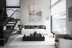 Olohuone kohteessa Urban Villa 1, Asuntomessut 2015 Vantaa