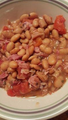 Pinto Beans with Ham bone