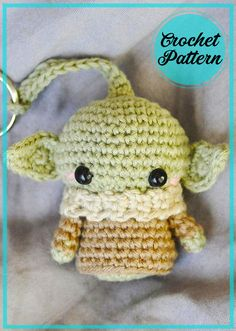Crochet Keyring Free Pattern, Crochet Unicorn Pattern Free, Crochet Star Patterns, Star Wars Crochet, Crochet Cow, Crochet Stars, Crochet Amigurumi Free Patterns, Free Crochet, Crochet Accessories