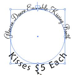 Logos and other artwork use type on a circle. This tutorial will show you how to put text around a circle with Adobe Illustrator.: Rotate the text to the bottom of the circle