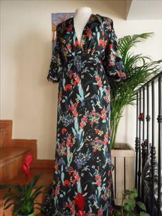 #Vestido, #Dress en Piel de Angel para evento realizado en el Taller de MarCost.