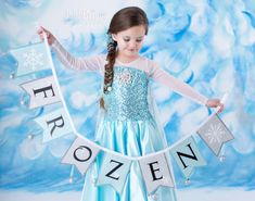 Frozen costume Elsa inspired dress 4t satin style skirt by primafashions on Etsy