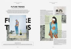 The Vision Paper Editorial Design Layouts, Magazine Layout Design, Graphic Design Layouts, Magazine Layouts, Typography Layout, Graphic Design Typography, Mise En Page Web, Yearbook Design, Yearbook Theme