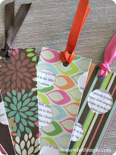 I have a fun bookmark craft to show you today that your kids will love to create, but first I want to tell you about a new idea I've implemented with my kids this summer- Family Reading Time. (Sounds simple enough, right?) One of the ways I am trying to avoid 'summer mush brain' for my kids is to encourage
