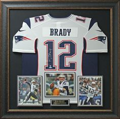 Signature Royale - Tom Brady Signed New England Patriots Home Jersey Display., $2,324.95 (http://www.signatureroyale.com/tom-brady-signed-new-england-patriots-home-jersey-display/)