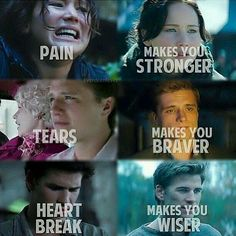 What hunger games taught us,and that's just three things they taught us...