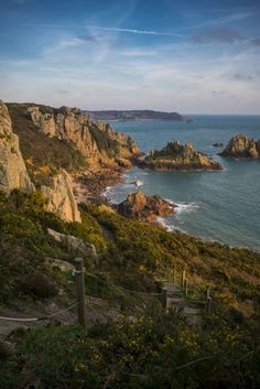 Beautiful scenery along the coast of Jersey, Channel Islands #EscapeToJersey