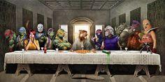 Das letzte Abendmahl: Teenage Mutant Ninja Turtles (TMNT) - http://www.dravenstales.ch/das-letzte-abendmahl-teenage-mutant-ninja-turtles-tmnt/