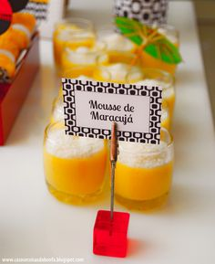 passionfruit mousse 30th Birthday, Birthday Parties, Mousse, Bar A Bonbon, Cha Bar, Creative Party Ideas, I Party, Luau, Birthday Decorations