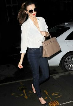 Miranda Kerr. #style