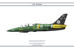 Aero L-39Z in the Caterham colours