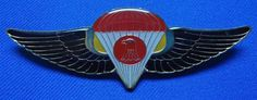 IRAQ ARMY MILITARY PARACHUTE PARATROOPER SPECIAL FORCES BADGE