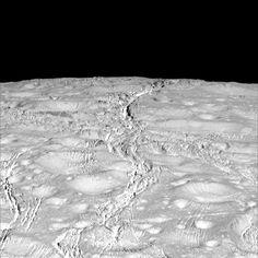 Icy Enceladus