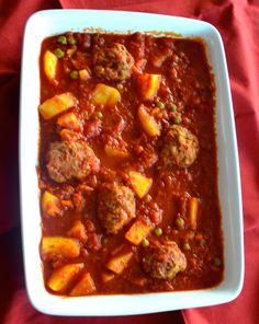 Crock Pot Veal Meatballs Stew