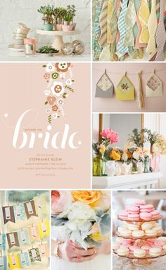 Tea party bridal shower idea - love the colors Tea Party Bridal Shower, Shower Party, Baby Shower, Bridal Showers, Shower Inspiration, Wedding Inspiration, Just In Case, Just For You, Dream Wedding