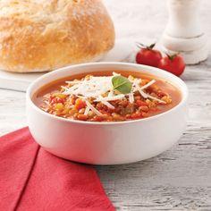Soupe aux lentilles à l'italienne - Recettes - Cuisine et nutrition - Pratico Pratique