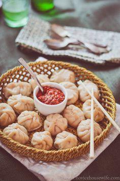 Garam Masala Tuesdays: Steamed Chicken Momos