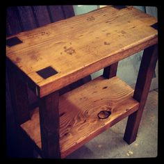 Rustic Table by DarkCreekDesign on Etsy, $130.00