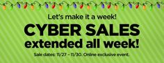 This week is #CyberWeek. So, why not take advantage of some money saving Cyber Week coupons and discounts? You can save big on all your holiday purchases.
