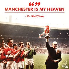 (*) sir matt busby - Twitter Search Matt Busby, Bobby Charlton, Manchester United Football, Man United, Breathe, Legends, The Unit, Club, Feelings