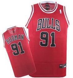 977d26f8a Dennis Rodman jersey-Buy 100% official Nike Dennis Rodman Men s Authentic  Champions Red Jersey