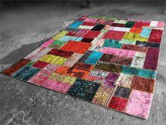 Tapis patchwork