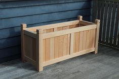 CLASSIC Versailles inspired planters, HENLEY traditional to contemporary planters, COAST contemporary, METRO modern wood planters & BoxSeat storage boxes. Garden Planter Boxes, Herb Planters, Wooden Planters, Contemporary Planters, Rectangular Planters, Bespoke Furniture, Small Trees, Patio Design, Backyard Patio