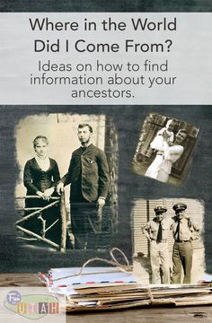 Ideas for searching out your ancestors, family history - from FuninUtah.com