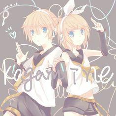 Vocaloid - Kagamine Rin & Len