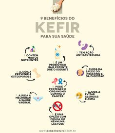 beneficios do kefir Us Health, Health And Nutrition, Kombucha, Healthy Style, Healthy Life, Beneficios Do Kefir, Probiotic Foods, Need To Lose Weight, Superfoods