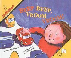 Amazon.com: Beep Beep, Vroom Vroom! (Mathstart: Level 1 (Prebound)) (9780780798236): Stuart J Murphy, Chris L Demarest: Books