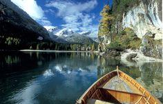 Pragser Wildsee, Boote im See