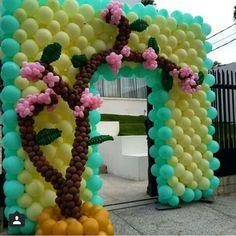 Balões árvore
