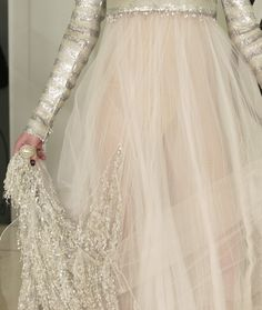 Chanel Haute Couture Spring 2011 via:wink-smile-pout Style Couture, Couture Fashion, Chanel Couture, Blush Tulle Skirt, Tulle Skirts, Karl Otto, Mode Rose, Vestidos Vintage, Classy And Fabulous