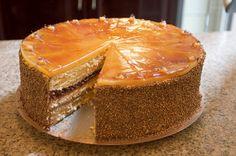 Rosehip Marzipan Torte