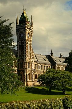 University Clocktower, Dunedin, Otago, New Zealand