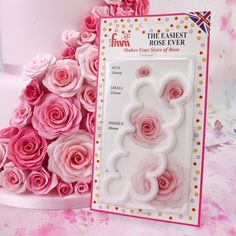 FMM Cutter Easiest Rose Ever Fondant Icing Cutting Tool For Cake Decoration #FMM